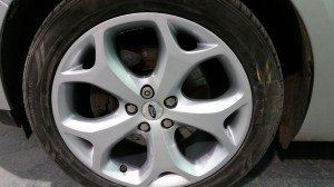 Wheel after repairs