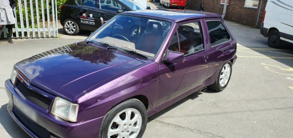 Vauxhall Nova custom respray