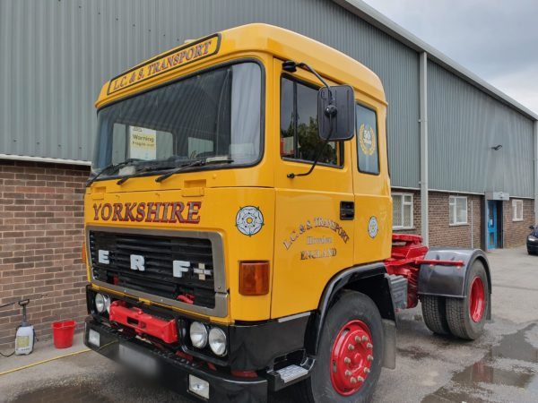 Classic DAF Painted